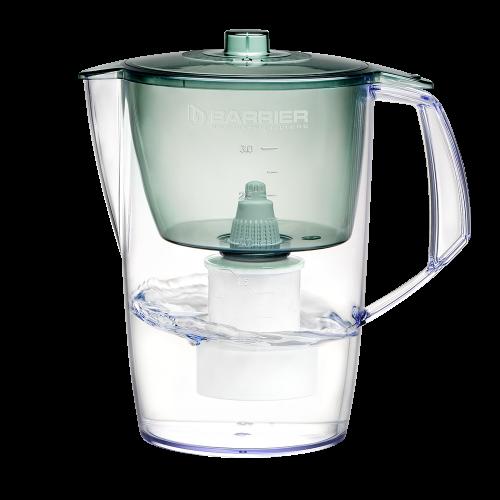 Фильтр-кувшин для очистки воды, БАРЬЕР, Норма, малахит