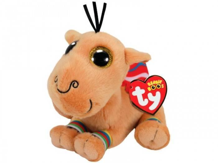 Мягкая игрушка, TY, Ямал верблюд, 25см