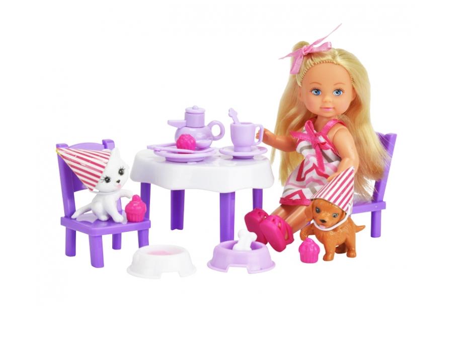 Кукла, Simba, День рождения питомцев, Еви с питомцами, 5732831