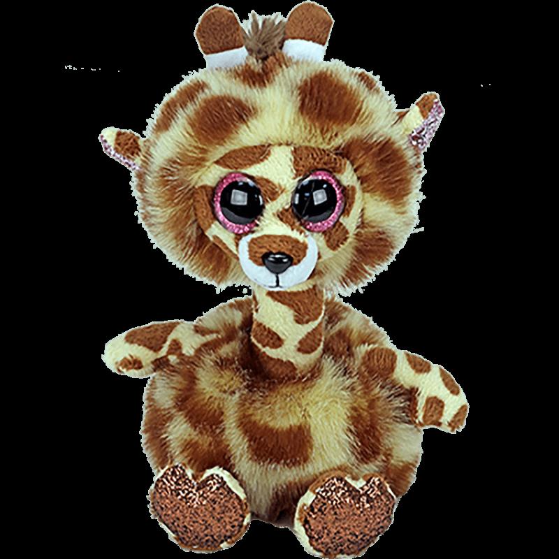 Мягкая игрушка, TY, Джерти жираф с длинной шеей, 25см