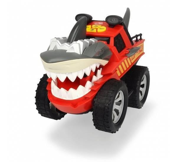 Машинка, Dickie, стремительная акула моторизированная, со светом и звуком, 30см