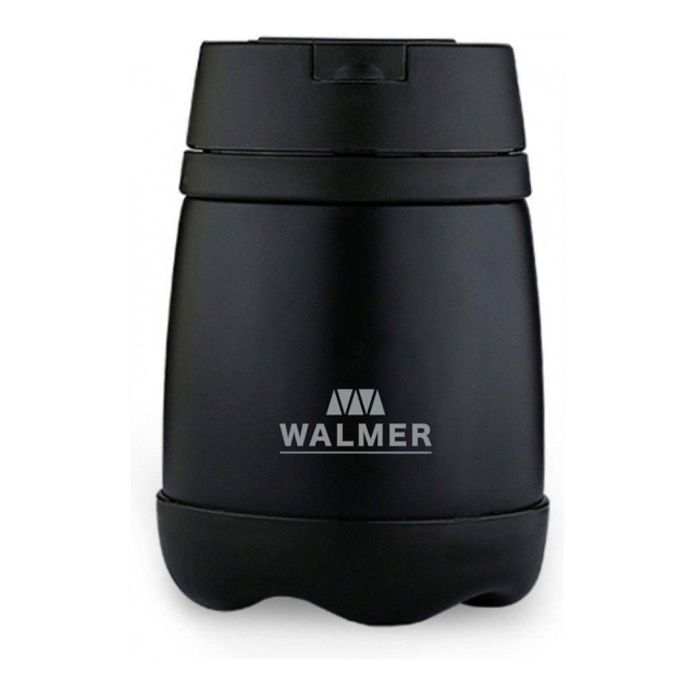 Термос для еды, WALMER, MEAL, с ложкой, 500мл, чёрный