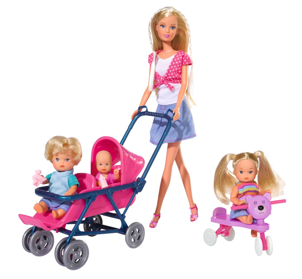 Кукла, Simba, Штеффи с детьми