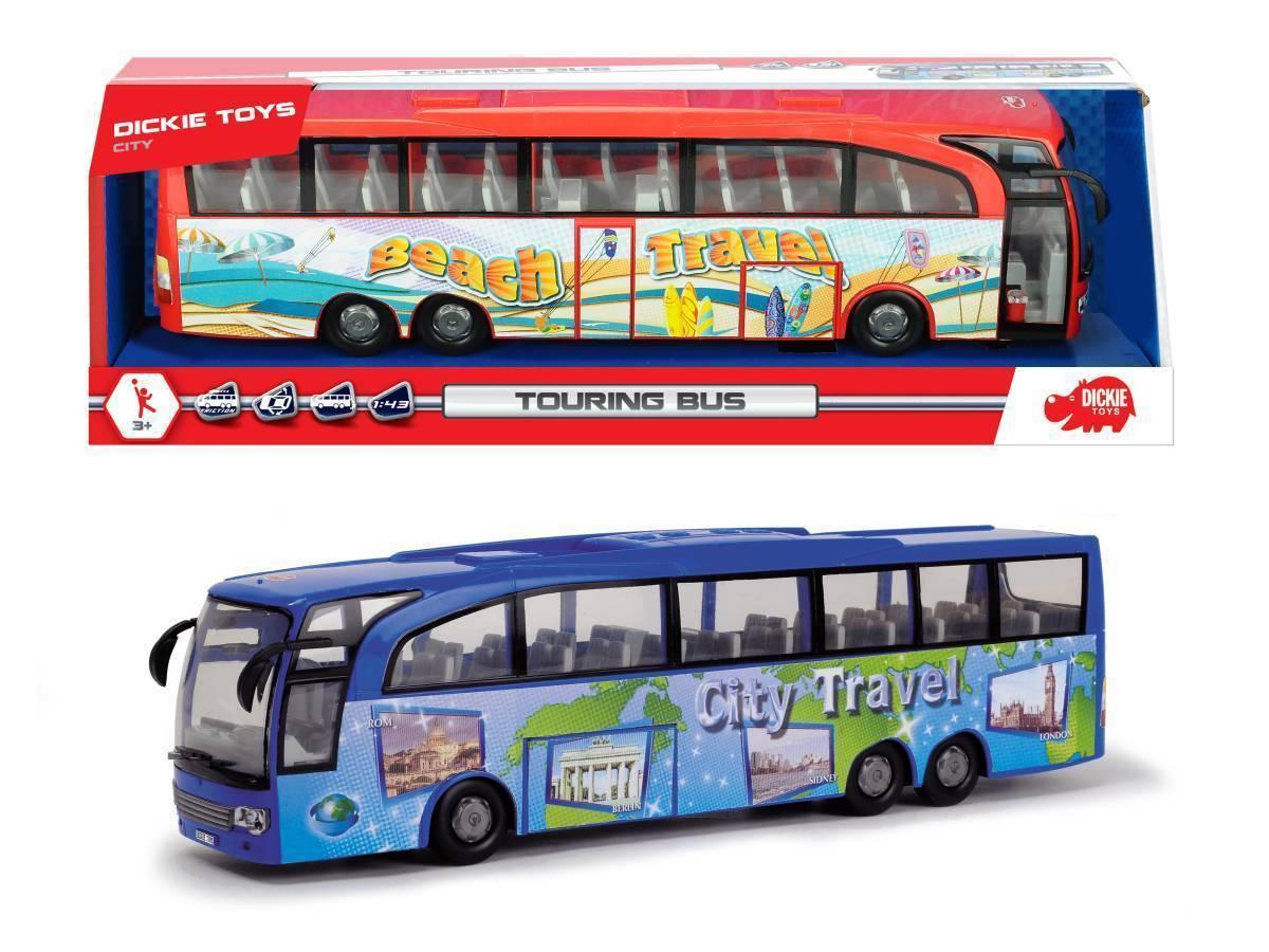 Туристический автобус, Dickie, фрикционный