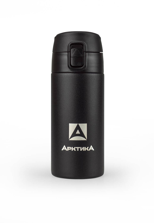 Термос питьевой, Арктика, вакуумный, бытовой, 350мл, черный, 705-350
